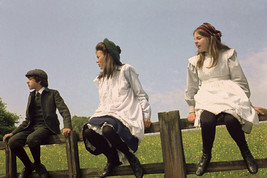 Jenny Agutter and Sally Thomsett in The Railway Children Set on Farm Fence 24x18 - $23.99