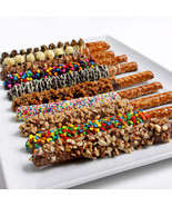 Gourmet Chocolate Dipped Pretzels - $67.99