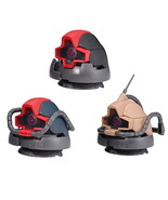 GUNDAM EXCEED MODEL DOM HEAD1 All 3 type set Full Complete Bandai  - $25.00