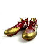 Adidas Football Cleats Men's Size 13.5 CLU 60001 Red Gold White New - $74.77