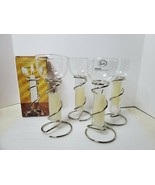 Studiosilver Mini Floating Candles Silver Plated Stand Candles Included ... - $11.39