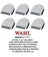 6 pc Wahl Moser FINE 5 in 1 Blade for BELLISSIMA,ChromStyle,Motion,PRO P... - $230.99