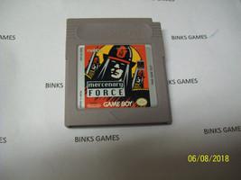 Mercenary Force (Nintendo Game Boy, 1990) - AUTHENTIC - $14.94