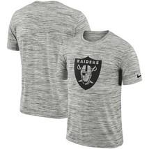 Oakland Raiders NFL Legend Velocity Dri-FIT S.S.T-Shirt 2XL-XXL/Heathere... - $23.95