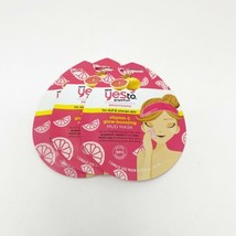 (3) Yes To Grapefruit Brightening Vitamin C Glow Boosting Peel Off Mask ... - $6.64