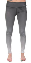 Bench Women's Black to Faded Gray Baddah Leggings Fitness Yoga Pants NWT