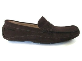 ROCKPORT LUXURY CRUISE PENNY Men's Chocolate Moc-toe Slip-on Shoes, #CH3739 - $79.99