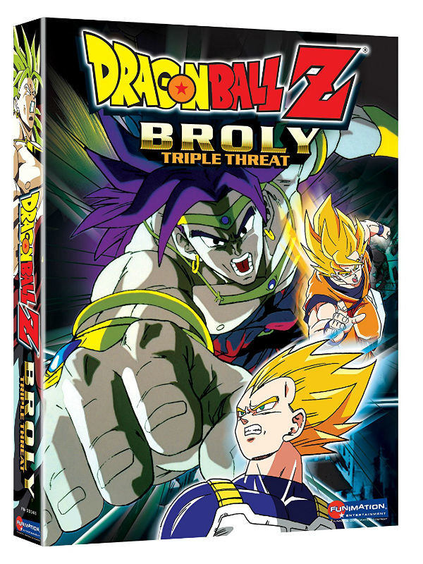 Dragon Ball Z Movie Broly 3-Pack DVD Brand NEW!