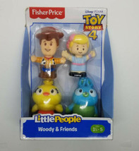 Fisher-Price Little People Toy Story Woody and Friends Figure Pack. BRAN... - $13.85