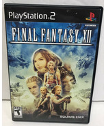 Final Fantasy XII Videogame PS2 Game FF 12 PlayStation 2 Complete - $7.83