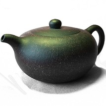 Teapot Chinese Yixing Genuine Black Sand Heijingan Tea Xishi Pots 9.5oz/... - $48.09