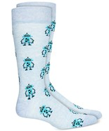 Mens Novelty Socks Robots Light Blue BAR III $10 - NWT - $3.95