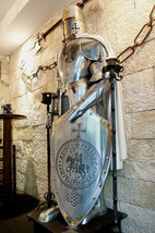 NauticalMart Medieval Knight Crusader Full Suit Of Armor Halloween Costume - $899.00
