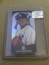 2015 Bowman Chrome Prospect Profiles Minis #PP18 Luis Severino : New Yor... - $2.14