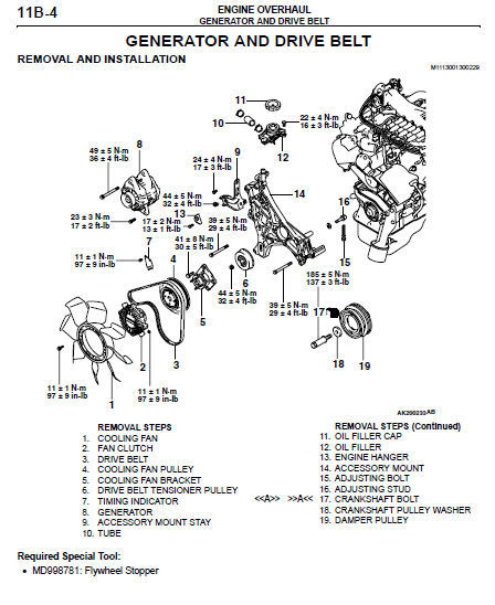 2000 2001 2002 2003 2004 MITSUBISHI MONTERO SPORT FACTORY SERVICE REPAIR MANUAL