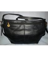 Stone Mountain Black Leather Crossbody Shoulder... - $17.00