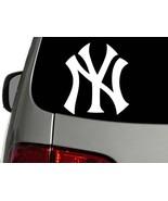 New York Yankees Baseball Vinyl Decal Car Wall Window Sticker CHOOSE SIZ... - $1.91+
