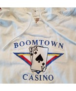 "Boomtown Casino Lightweight Distressed ""Poker"" Hoody - XL- B- Katrina Su... - $18.89"