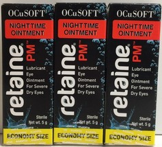 (New) OCuSOFT Retaine PM - 5g Tube Lot of 3 Exp 08/2018 - $19.79
