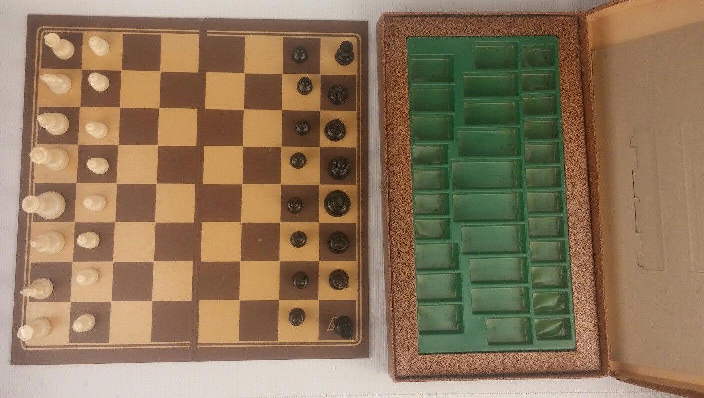 Lowe Chess Set: 2 listings