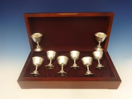 La Paglia by International Sterling Silver Set of 8 Goblets in Fitted Bo... - $3,950.00