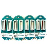 Lot of 4) 2-pack Cradle Brand Streamline Cord Organizers NEW! - $11.63