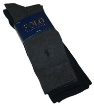 Polo Ralph Lauren 3 Pack Dress Socks (Sock size: 10-13, Shoe size: 6-12½) - $18.99