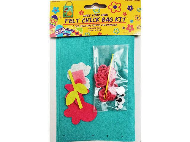 Regent Products Corp Felt Chick Bag Kit for Children #G90483