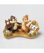 Perpetual Polyresin calendar Disney Chip & Dale Desk type from Japan NEW... - $88.11