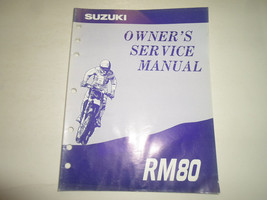 1994 Suzuki RM80 Owners Service Manual Water Damaged Factory Oem Book 94 Deal - $15.83