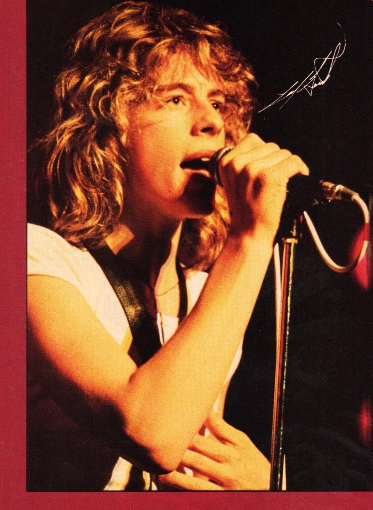 Leif Garrett teen magazine pinup 1970's Vintage Microphone Nice Arms Teen Beat