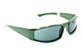 New RAY-BAN Rb 4335 6489/87 Green Authentic Frames Sunglasses 58-17 - $63.11