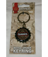 NEW Guinness Extra Stout Flip Down Bottle Opener Keyring Collectors Edit... - $17.58