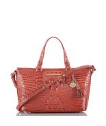 Brahmin MINI ASHER rose quart MELBOURNE Bag - $153.44