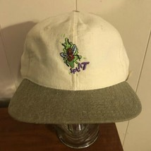 Vintage NOS Cartoon Network Splat Rare Made In USA Cap White Cap Deadstock - $49.49