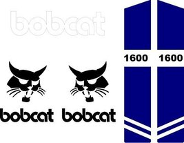 1600 style C decal sticker kit fits bobcat - $58.80