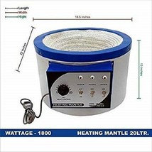 220V Heizmantel 20000 ml (20L) - $381.98