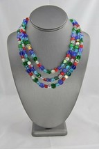 AUTHENTIC SWAROVSKI TORSADE PRIMARY Color CRYSTAL NECKLACE MAGNETIC CLASP - $325.00