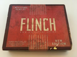 """Flinch Card Game Vintage Complete Family Parker Brothers """"New Edition"""" - $19.99"""