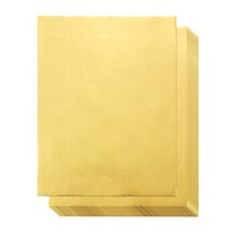 250 Award Stickers - Gold Certificate Seals, Blank Star Stickers for Awa... - $8.45