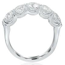 5 Stone Diamond Wedding Band 14K White Gold (2.45 ctw) - $4,949.01