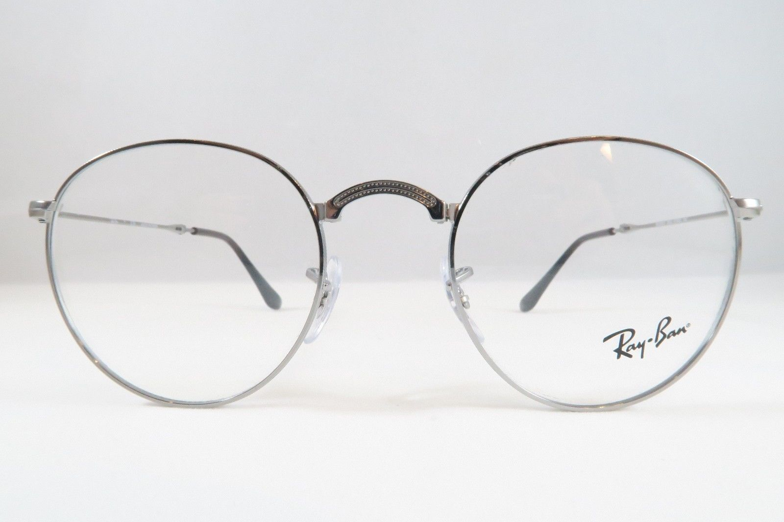 2de7425a03a Ray-Ban RB 3532V 2502 Silver Round Folding and 50 similar items. S l1600