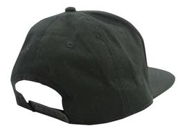 BRAND NEW LEVI'S MEN'S PREMIUM COTTON ADJUSTABLE SNAPBACK BASEBALL HAT CAP BLACK image 4