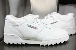 Vintage Reebok Klassisch Sneakers Damen 4 Neu 27.4ms Lederschuhe Weiß - $50.00