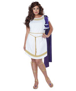 California Costumes PLUS Women's Grecian Toga Greek Goddess White Roman ... - $33.99