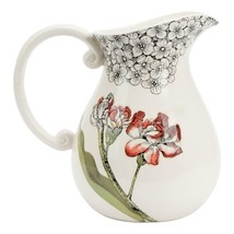 Fitz & Floyd Floral 20-313 Hydrangea Pitcher 3.5 QT. - $20.77