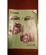 CANON EOS REBELX S / EOS REBELX original instruction manual 1993 English - $8.99