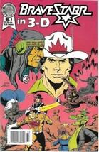 BraveStarr in 3-D Comic Book #1 Blackthorne 3-D Series #27 1987 FINE+ - $3.50