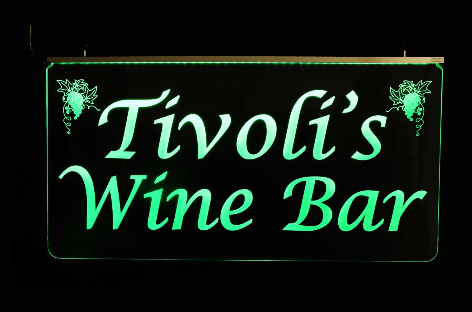 Personalized 2 Sided LED Laser Engraved Sign image 3