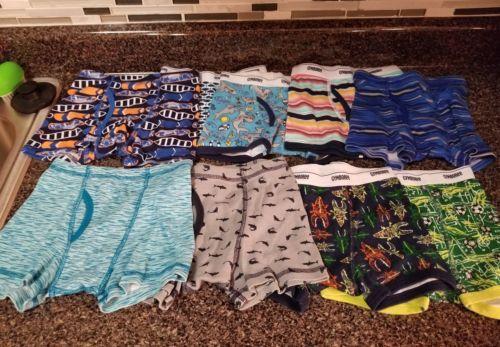 New Gap Kids Boys 4 Pack Boxer Briefs Underwear 6 7 8 10 12 14 NWT Camo Stripes